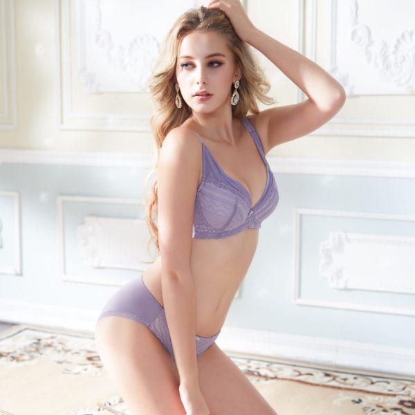 Get Closer Basic Curvy Purple